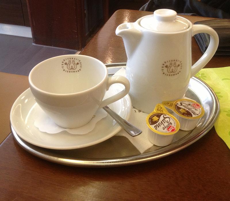 Kännchen Kaffee