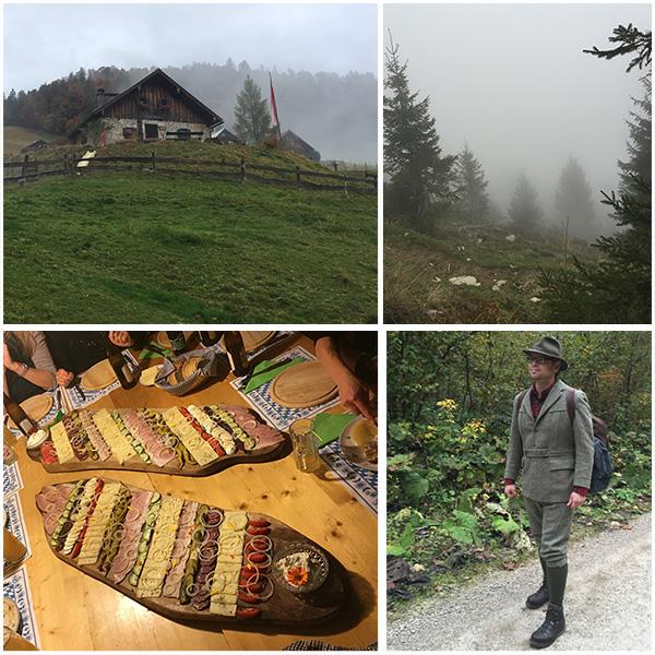 Ladenbergalm Hauserhütte Herbstwanderung