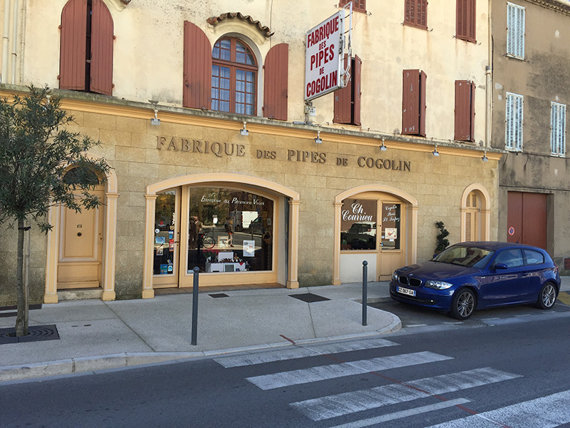 Cogolin Pfeifenmacher Provence Courrieu