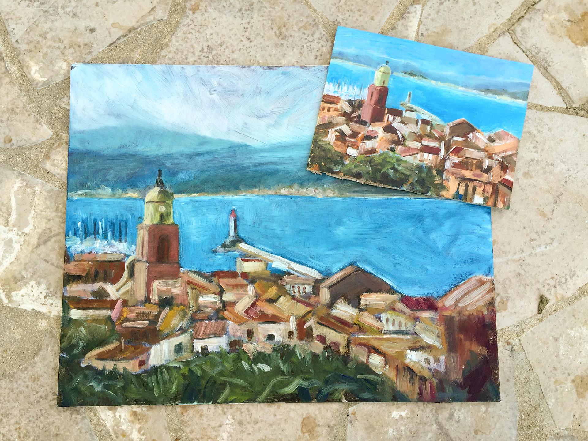 St. Tropez Pein-Air 2 Formate