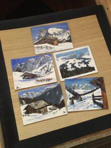 Seiseralm Postkarten Alexander Broy